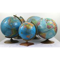 Blue School Globes
