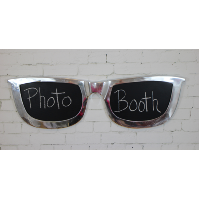 Bespoke Chalkboard Glasses Sign