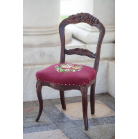 Helena Embroidered Side Chair