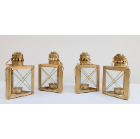 Champagne/Gold Lanterns