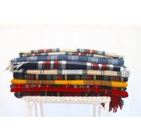 Plaid Wool Blankets