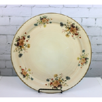 Tray With Floral Border