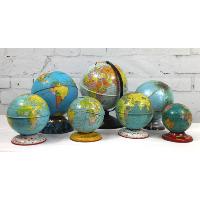 Small Metal Globes