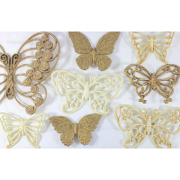 Plastic Butterfly Collection