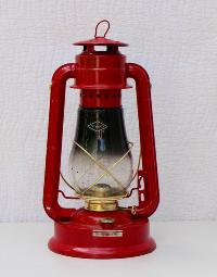 Vintage Red Camping Lanterns