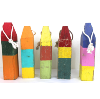 Colorful Wooden Buoys