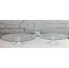 Set of 3 Glass Cake Stands