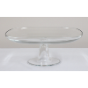 Square Modern Glass Cake Stand