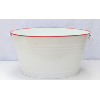 White Enamel Drink Tub