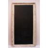 Large Chalkboard in Ivory Ornate Frame