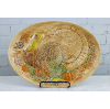 Colorful Ceramic Turkey Platter