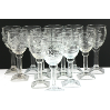 Embossed Mexican Glass Goblets