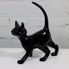 Ceramic Black Cat Figurine