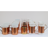 Assorted Moscow Mule Glasses With Copper Sleeves (Various sizes)