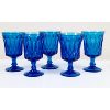 Electric/Peacock Blue Goblets