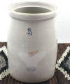 Antique 3-Gallon Stoneware Crock