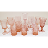 Assorted Pink Glasses