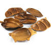 Wooden Snack Plates in Assorted Shapes