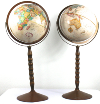Standing Tan Globes