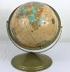 Antique Tan Globe