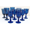Assorted Royal/Deep Blue Goblets