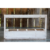 Rustic White Wooden Toolbox