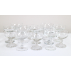 Assorted Glass Champage Coupes