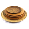 Assorted Wooden Plates