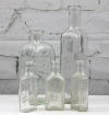Small Clear Glass Bottles