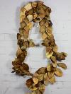 Metallic Gold Leaf Garlands