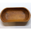 Oblong Wooden Serving Bowl