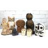 Mid-Century Owl Figurines