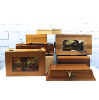 Small Decorative Wooden Boxes with Lids