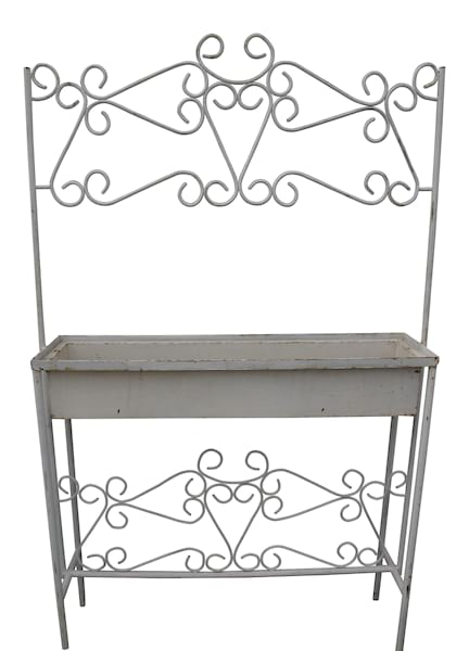 French Wrought Iron Planters