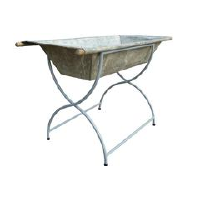 Galvanized Metal Beverage Server