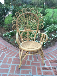 Curly Wicker Chair