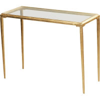 Simple Gold Coffee Table