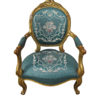 Brocade Armchair