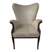 Creamy Velvet Side Chair
