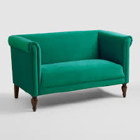 Emerald Loveseat