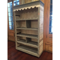 Reclaimed Wood Back Bar