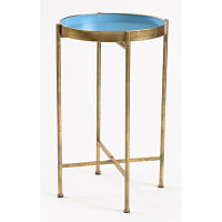 Blue Tray Table - Tall