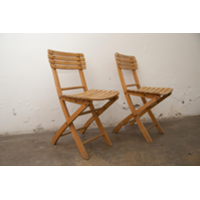 Vintage Bistro Chairs