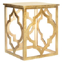 Gold Leaf Arabesque Table