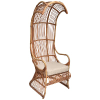 Rattan Canopy Chair