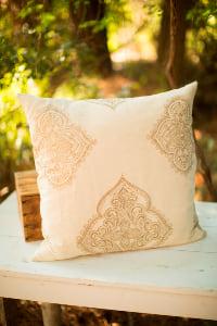 Neutral Moroccan Pillow