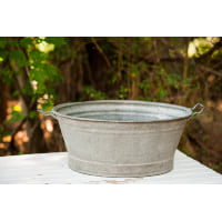 Small Oval Washtub
