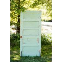 Matching Mint Door
