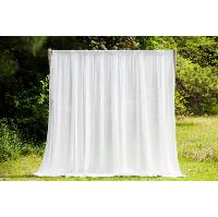 18' Chiffon Curtain Panel
