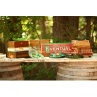 Set of 7 Cigar Boxes and Ad